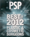 PSP Best of 2012 Plastic & Cosmetic Surgeons