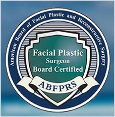 facial plastic surgery board certification - logo
