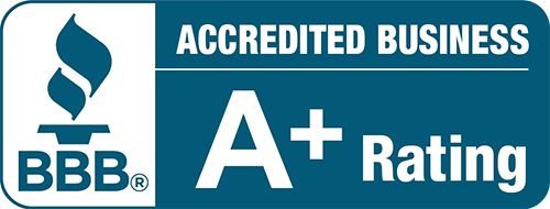 Accredited Business BBB. A+ rating