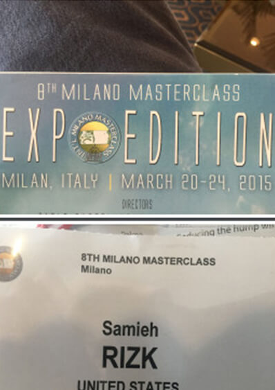 Master Rhinoplasty section at the 8th Milano Masterclass