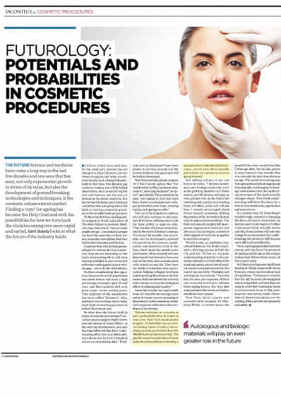 Dr. Rizk Featured in Modern Aesthetics On Emerging Innovations in Aesthetics