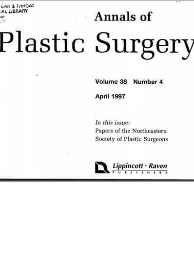 Annals of Plastic Surgery