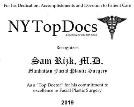 NY Top Doctors 2019