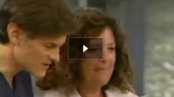 Watch Video: Dr. Oz Show - First 3D High Definition Septoplasty/Sinusitis Nasal Evaluation Performed on TV