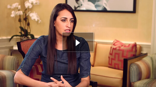Video testimonials of septoplasty patient