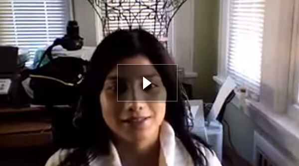 video Hispanic Female Patient after Rhinoplasty
